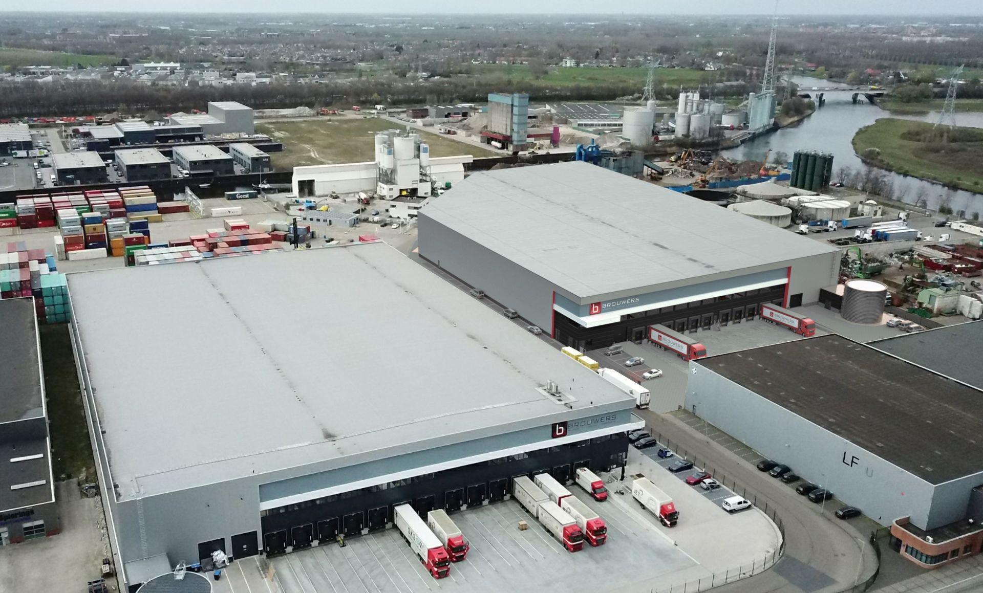 VDG Real Estate ontwikkelt tweede logistiek centrum van 11.000 m2 voor Brouwers in 's-Hertogenbosch
