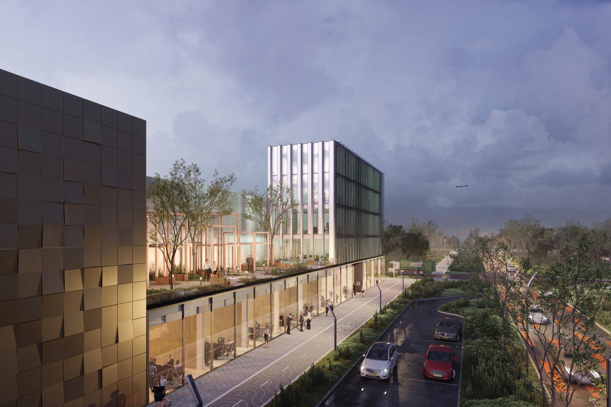 VDG Real Estate ontwikkelt VDG Warehouse Schiphol op Schiphol Trade Park: ruim 13.500 m2 verhuurd aan Fast Forward Freight