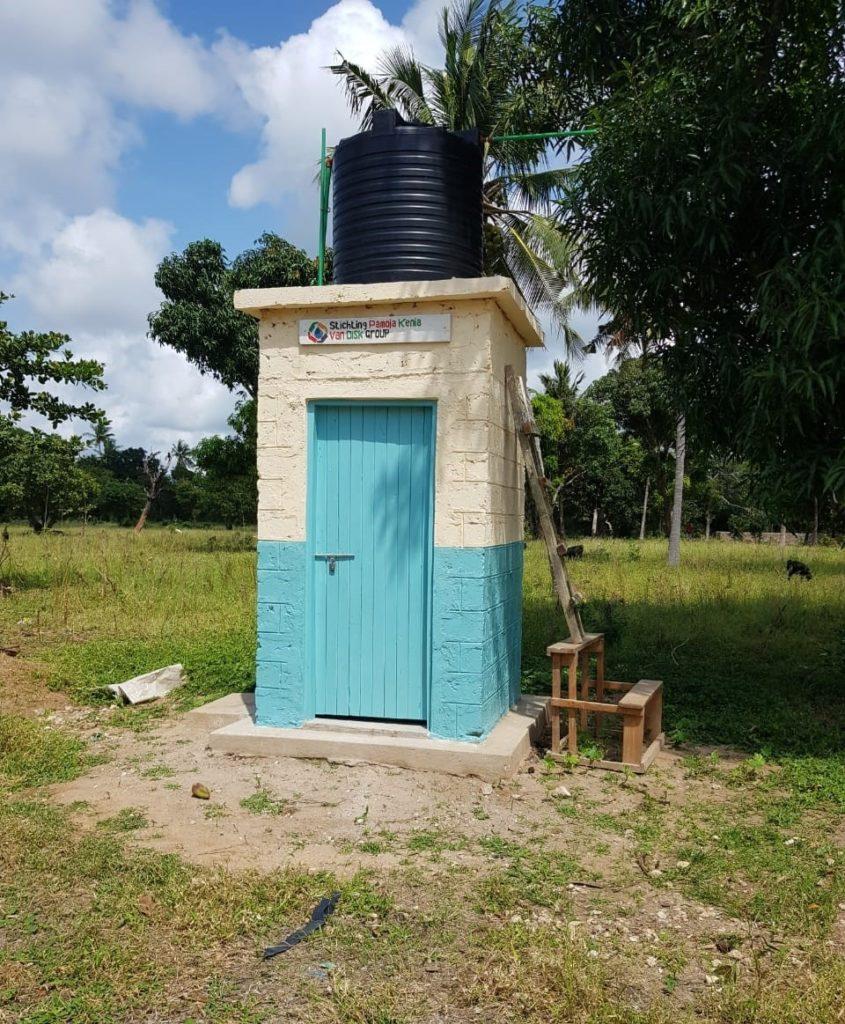 Schoon drinkwater en sanitaire voorzieningen basisschool Stichting Pamoje