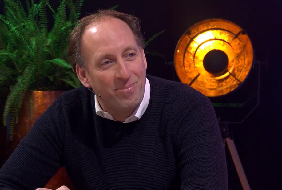 Erik van Dijk as guest at BFBG TV