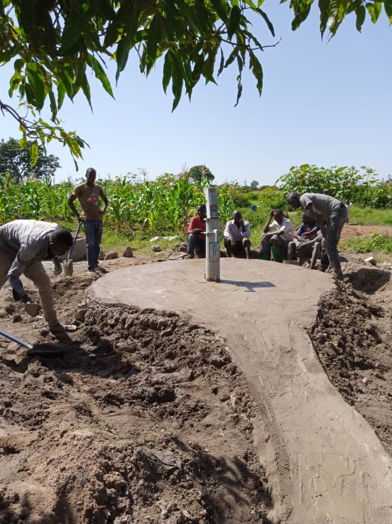 Aanleg waterput in samenwerking met Stichting Saidia
