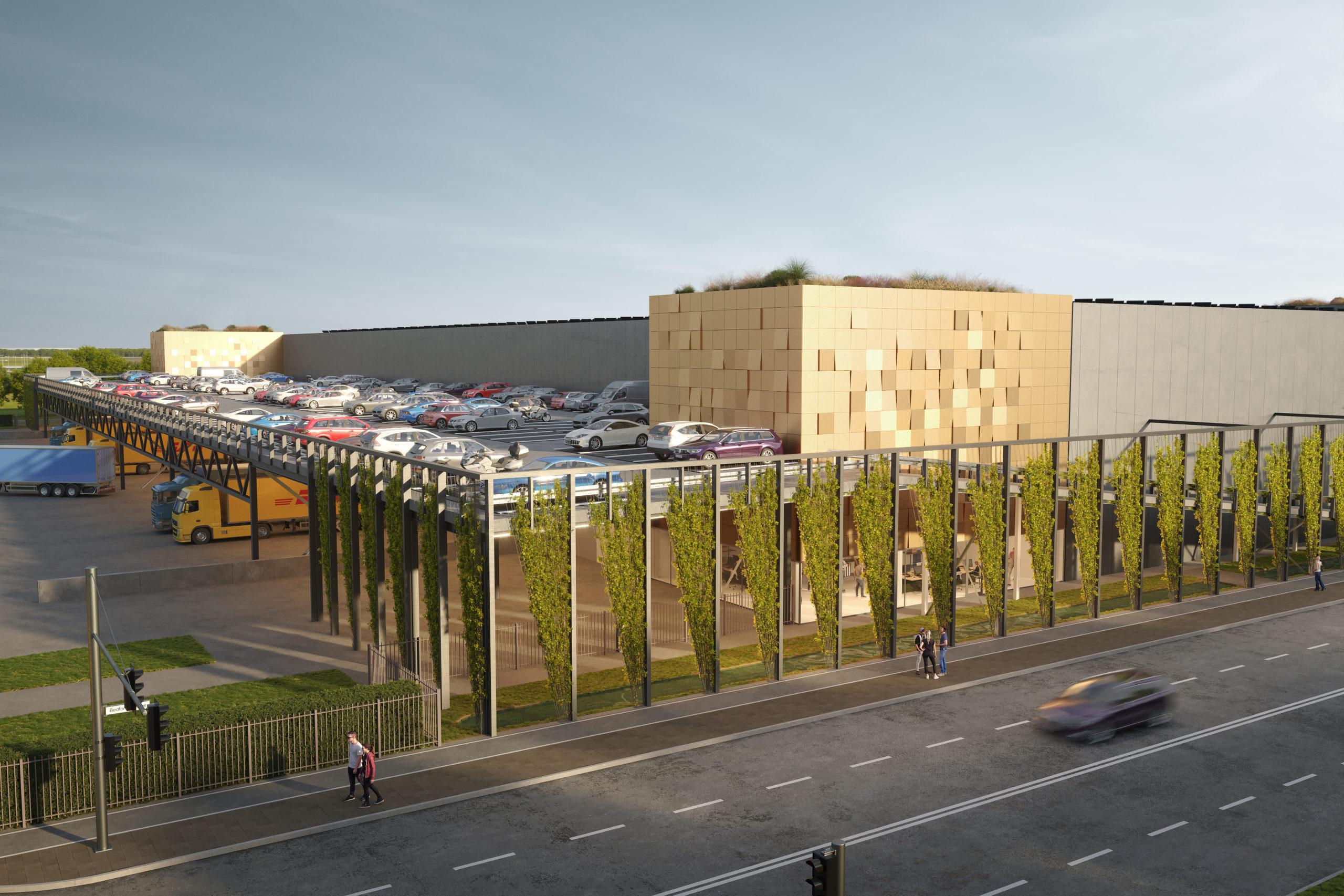 VDG Warehouse Schiphol I als eerste logistieke ontwikkeling genomineerd voor Award Natuurinclusief Bouwen & Ontwerpen 2021