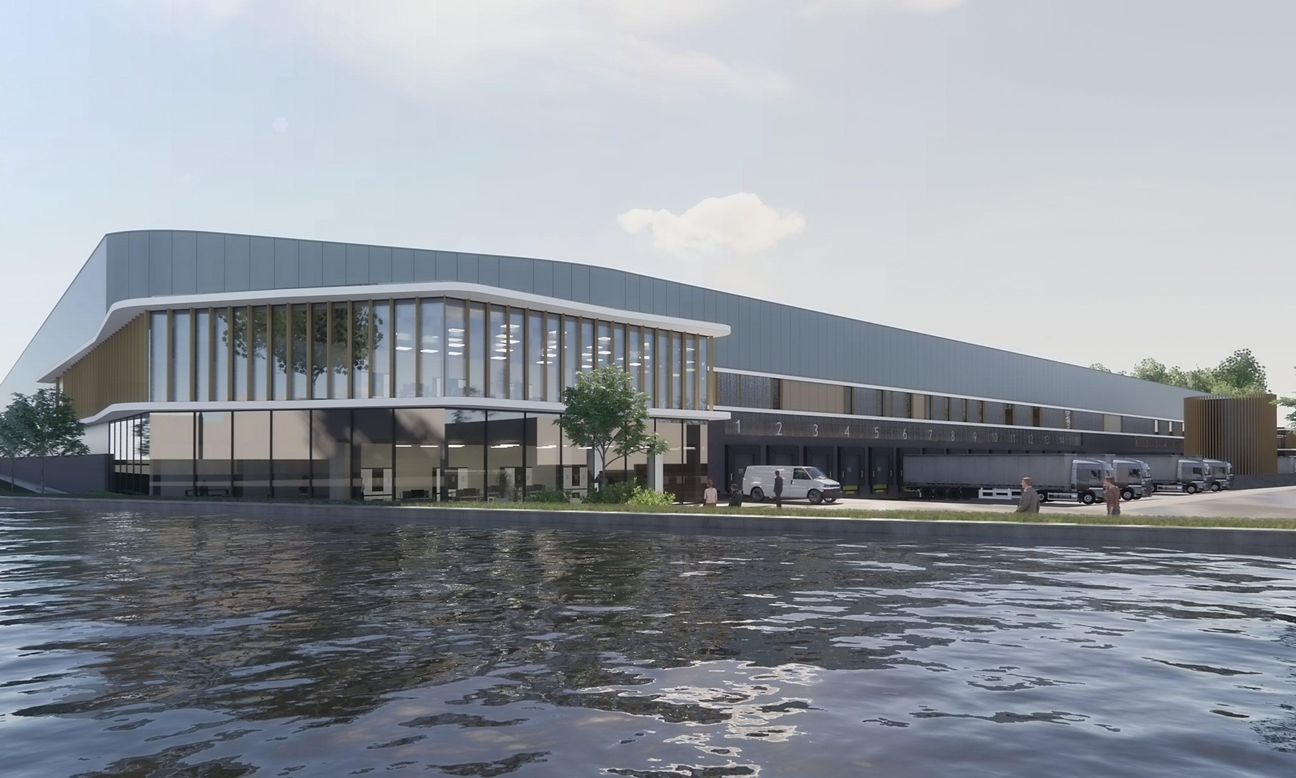 Warehouse Waalwijk BREAAM